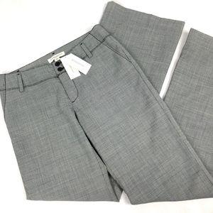 NWT Banana Republic Gray Ryan Fit Wool Pants Sz 2